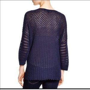 French Connection blue Hendy sweater